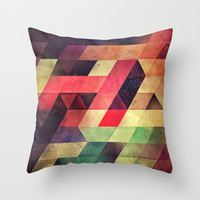 fynd yff Throw Pillow by Spires
