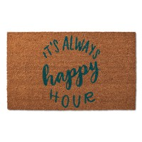 Happy Hour Doormat