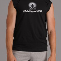 Mens - Positive Thought Brand Men's Muscle Tank - Black