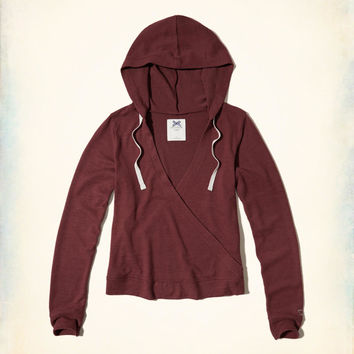 Gilly Hicks Cozy Wrap Hoodie