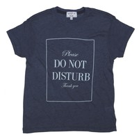 KIDS DO NOT DISTURB OVERSIZE T