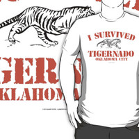 I Survived Tigernado Oklahoma City by Albany Retro