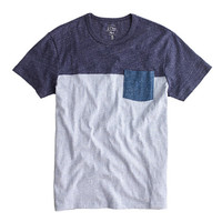 J.Crew Mens Slim Flagstone Pieced Pocket