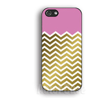 Pink,Gold iPhone Case,Gold Chevron IPhone 5s case,IPhone 5c case,IPhone 4 case,Water drop, IPhone 5 case ,IPhone 4s case,silicon case