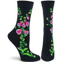 Witches Garden Fairy Gloves Sock