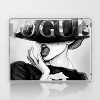 vogue; Laptop & iPad Skin by Pink Berry Patterns