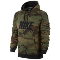 Nike Club PO Hoodie Woodland Camo - Men's at Champs Sports