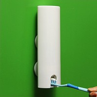 Amazon.com: Sucked Type Automatic Toothpaste Dispenser Family Toothbrush Holder