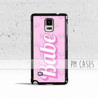 Pink Babe Case Cover for Samsung Galaxy S3 S4 S5 S6 S7 Edge Plus Active Mini Note 1 2 3 4 5