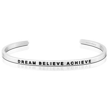 Dream Believe and Achieve Bracelet