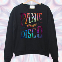 Panic At The Disco Galaxy black sweatshirt