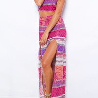 Tribal Print Co-Ord Dress