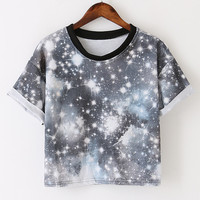 Grey Outer Space T-Shirt
