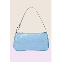 Sky's The Limit Croc Baguette Bag