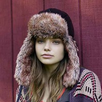 Quilted Tech Trapper Hat