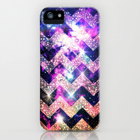 Crystal Dream Chevron - for iphone iPhone & iPod Case by Simone Morana Cyla