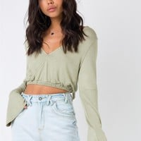 Somedays Lovin Hold Me Close Crop Top