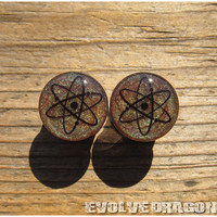 Atom Shape-Shifter Plugs - 00g, 7/16, 1/2, 9/16, 5/8, 3/4, 7/8, 1 Inch - CUSTOMIZABLE