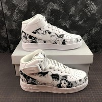 SLAM DUNK x Nike Air Force 1 CUSTOM Mid Sneakers - Best Online Sale