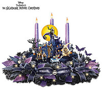 The Nightmare Before Christmas Light Up Musical Centerpiece