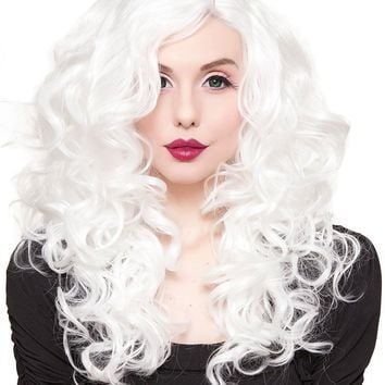 Cosplay [White]   WIGS