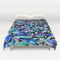 Geo Glass No.1 Duvet Cover by House of Jennifer