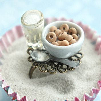 cheerios and milk ring