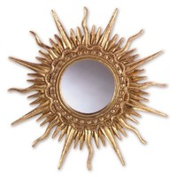 FANCY SUN WALL MIRROR [Kitchen]