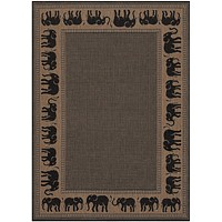 Couristan Recife Elephant Area Rug
