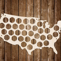 Beer Cap Map USA Custom Personalized Beer Cap Display Gifts for men Valentines gift Birthday Gift For Dad Fathers Day Gift For Boyfriend