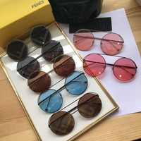 FENDI FF Womens Fashion Sunglasses