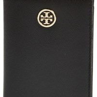Women's Tory Burch 'Robinson' Passport Case