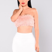 Honey Bunny Tube Top - Blush