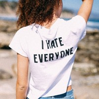 ALI I HATE EVERYONE TOP