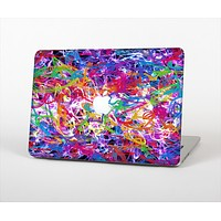 """The Neon Overlapping Squiggles Skin Set for the Apple MacBook Air 13"""""""