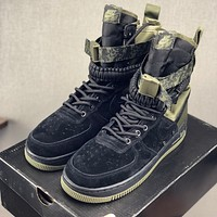 "Nike SF-AF1 High ""Black Medium Olive-Neutral Olive-Black"" Sneaker - Best Deal Online"