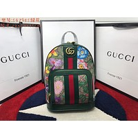 Gucci Women Leather Shoulder Bag Satchel Tote Bag Handbag Shopping Bags