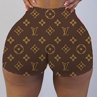 Louis Vuitton LV Fashion Women's Letter Print Shorts