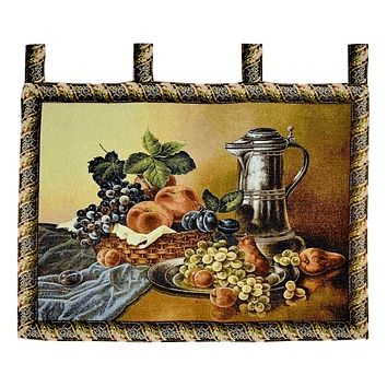 Tache 33 x 24 Inches Fruity Bouquet Tapestry Wall Hanging (WH-13123)