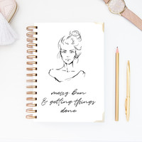 Notebook – Messy Bun