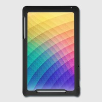 Fancy Spectrum Pattern Design (HDR) - Phone Case Nexus 7 Cover | Spreadshirt
