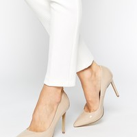KG by Kurt Geiger Bailey Nude Heeled Shoes