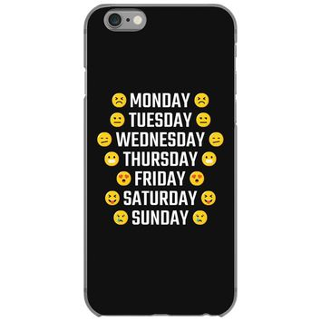 Moods Of The Week Daily Emoji iPhone 6/6s Case