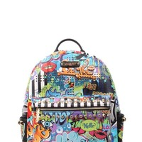 STREET STYLE PRINT FASHION BACKPACK