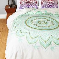 Boho Bright or Flight Duvet Cover in Full, Queen by ModCloth