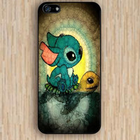 iPhone 5s case Rabbit turtle swimming iphone case,ipod case,samsung galaxy case available plastic rubber case waterproof B025