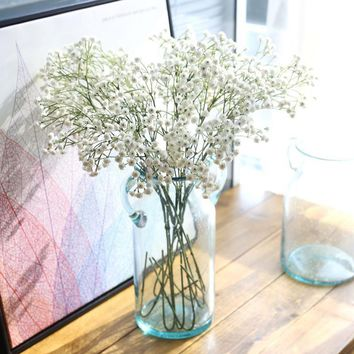 artificial flowers for wedding decoration mariage artificial flower bouquet for bridal wedding decoration flower hanging flores