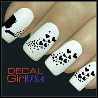 Hearts Nail Art Decals 32 Water Slide