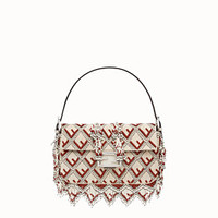 Bag with multicolor embroidery - BAGUETTE | Fendi | Fendi Online Store