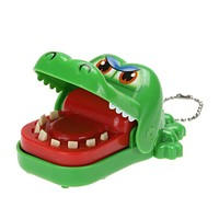 Funny Toys Trick Cartoon Animal Toy Crocodile Dentist Bite Mouth Toys For Children Baby Kids Random Color